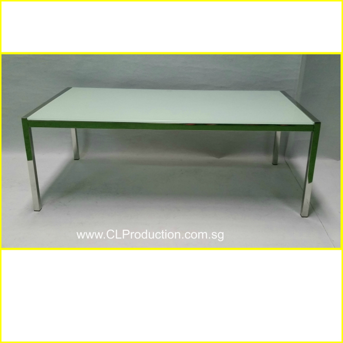 CT08: Glass Top Coffee Table