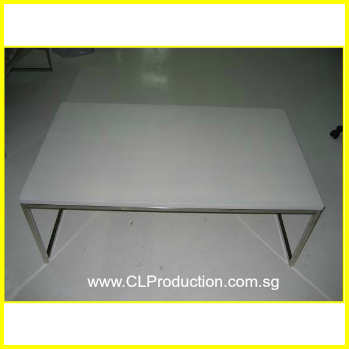 Ct02 Black White Trays Coffee Table Clp Production Pte Ltd