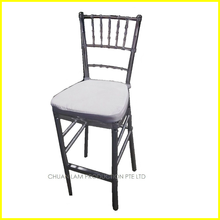 BS19 Tiffany Bar Stool with Cushion Copy CLP  : CLEAR TIFFANY BAR STOOL WITH WHITE CUSHION from clproduction.com.sg size 712 x 712 jpeg 101kB