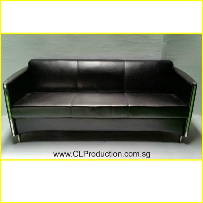 Csb05 3 Black Conference 3 Seater Clp Production Pte Ltd